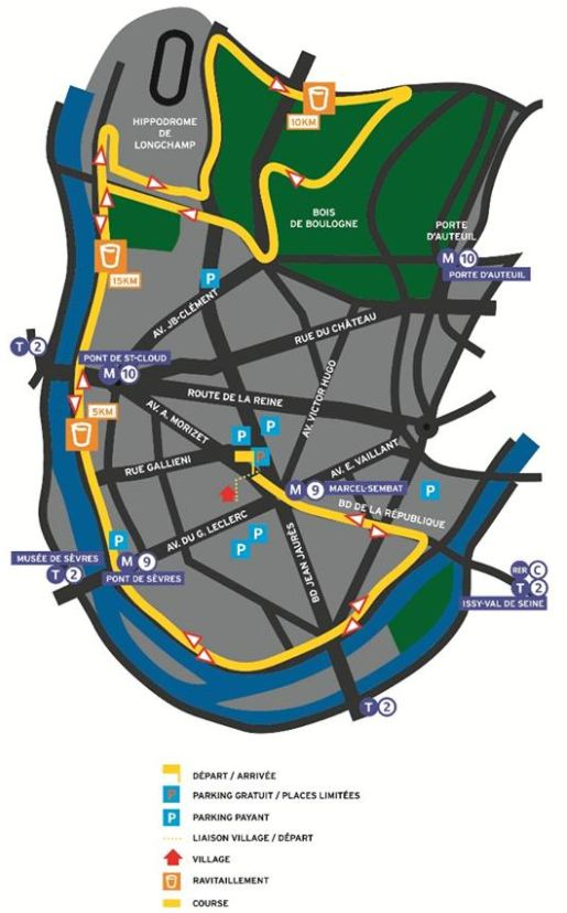 Semi-marathon de Boulogne-Billancourt Clipbo74