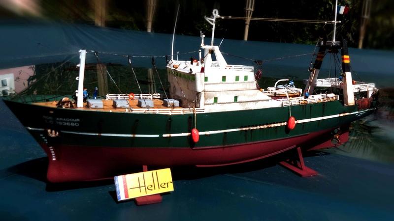 Bonne pêche pour le ROC AMADOUR (1:200) 01413