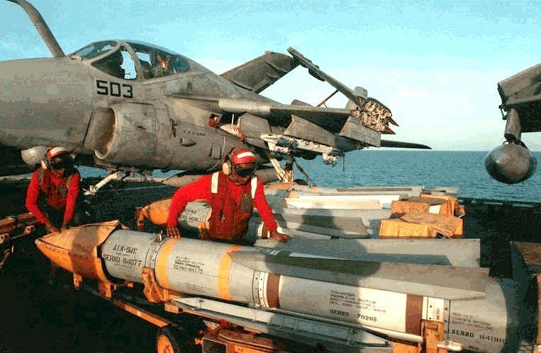 Renseignements sur les couleurs décoration missiles Phoenix, Sparrow, Sidewinder Aim-5410
