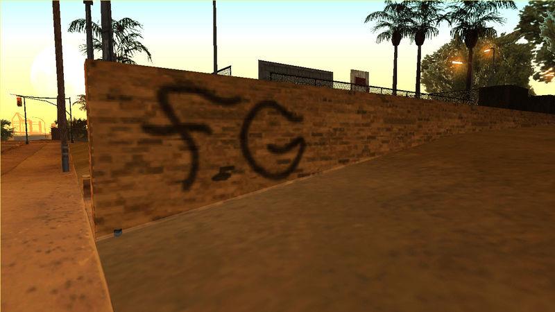 [REL] Felons Gang Environment + Graffiti Nipylu10