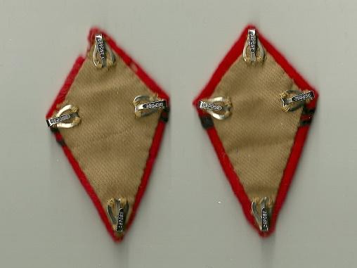 Paire de pattes de col aiglon pour officier d'état-major d'artillerie....Ou pas! Numyri45