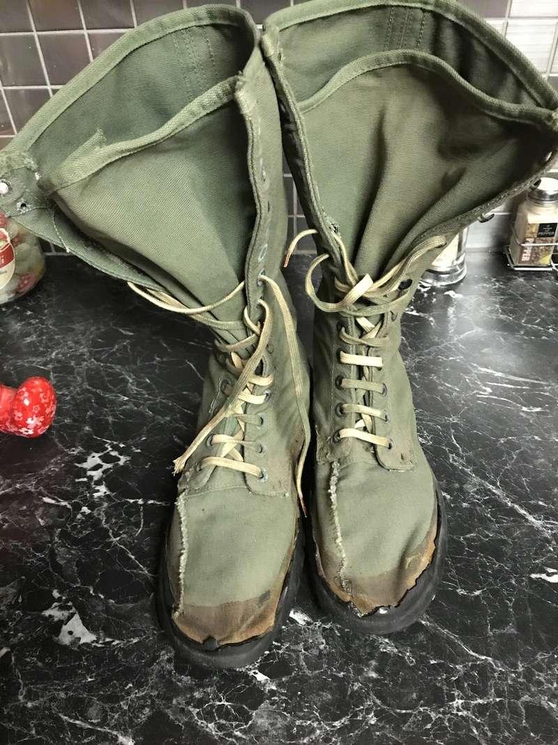 Chaussures Us WW2 en toile  C9b91210