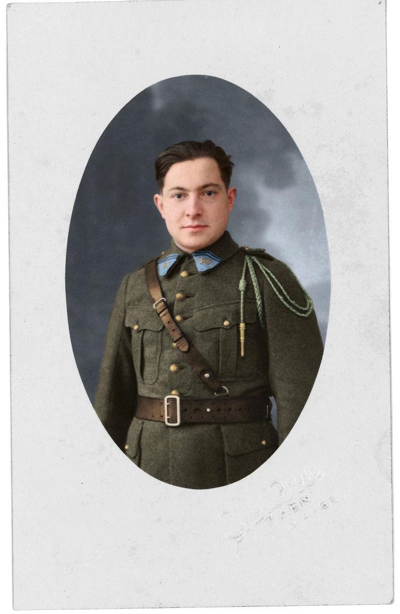 le soldats Rouillon Albert (photo colorisée) Grand-11