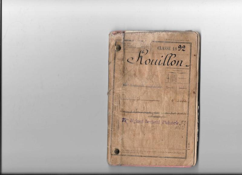Le soldat Rouillon Léon Denis M à J du 21/12/20 Livret10
