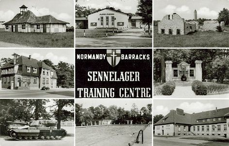 sennelager - Normandy Barracks 1958 Sennel10