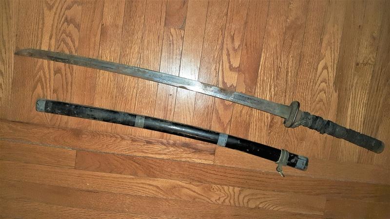 Japanese Bring Back Sword 20180118
