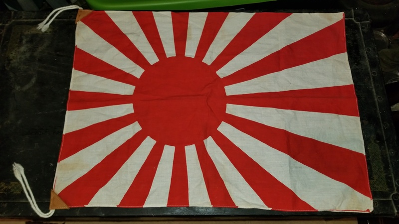 Small Japanese Flag 20180310