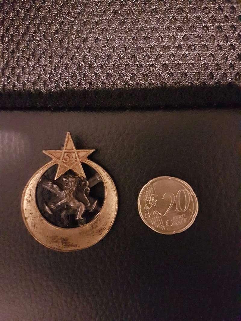 Identification Médaille 20180347