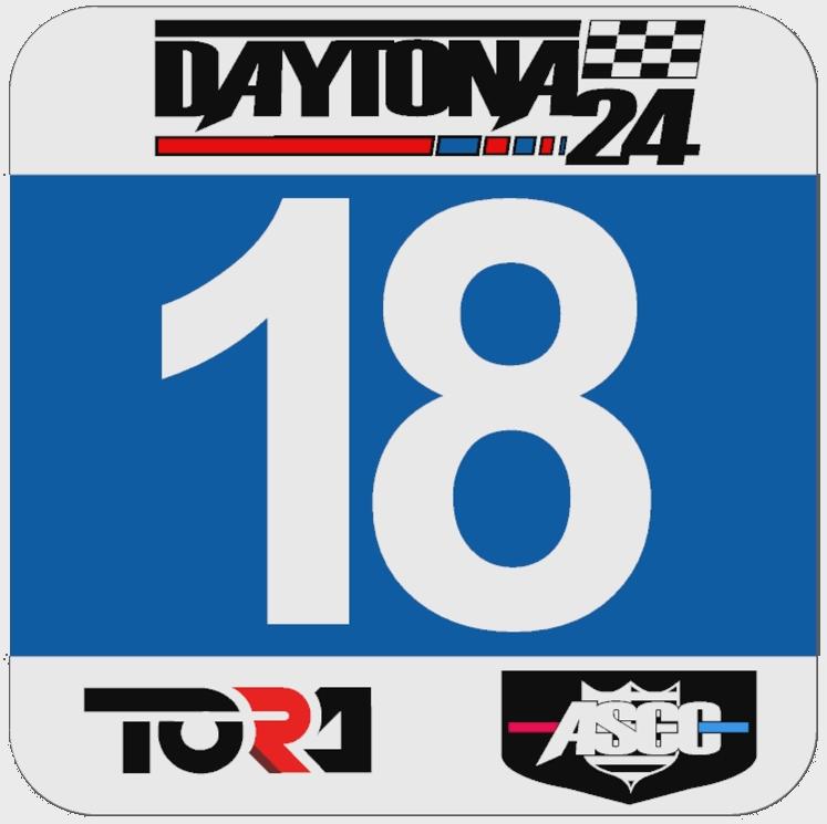 TORA 24 Hours of Daytona - Livery & Decal Rules Dp_num10