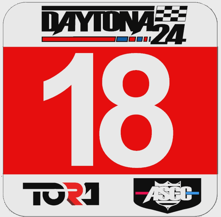 TORA 24 Hours of Daytona - Livery & Decal Rules Gt_num10