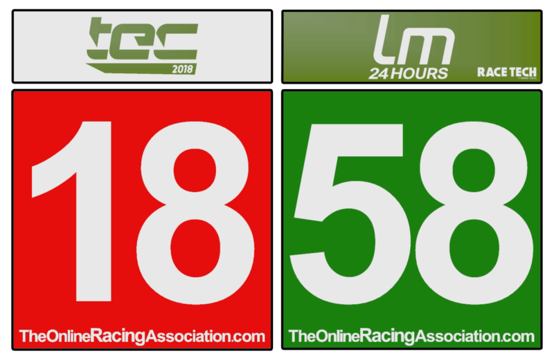 TORA 24 Hours of Le Mans - Livery & Decal Rules Lm-num10