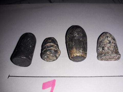 aide identification de balles de mousquets en plomb 1814 / 1870 33869010