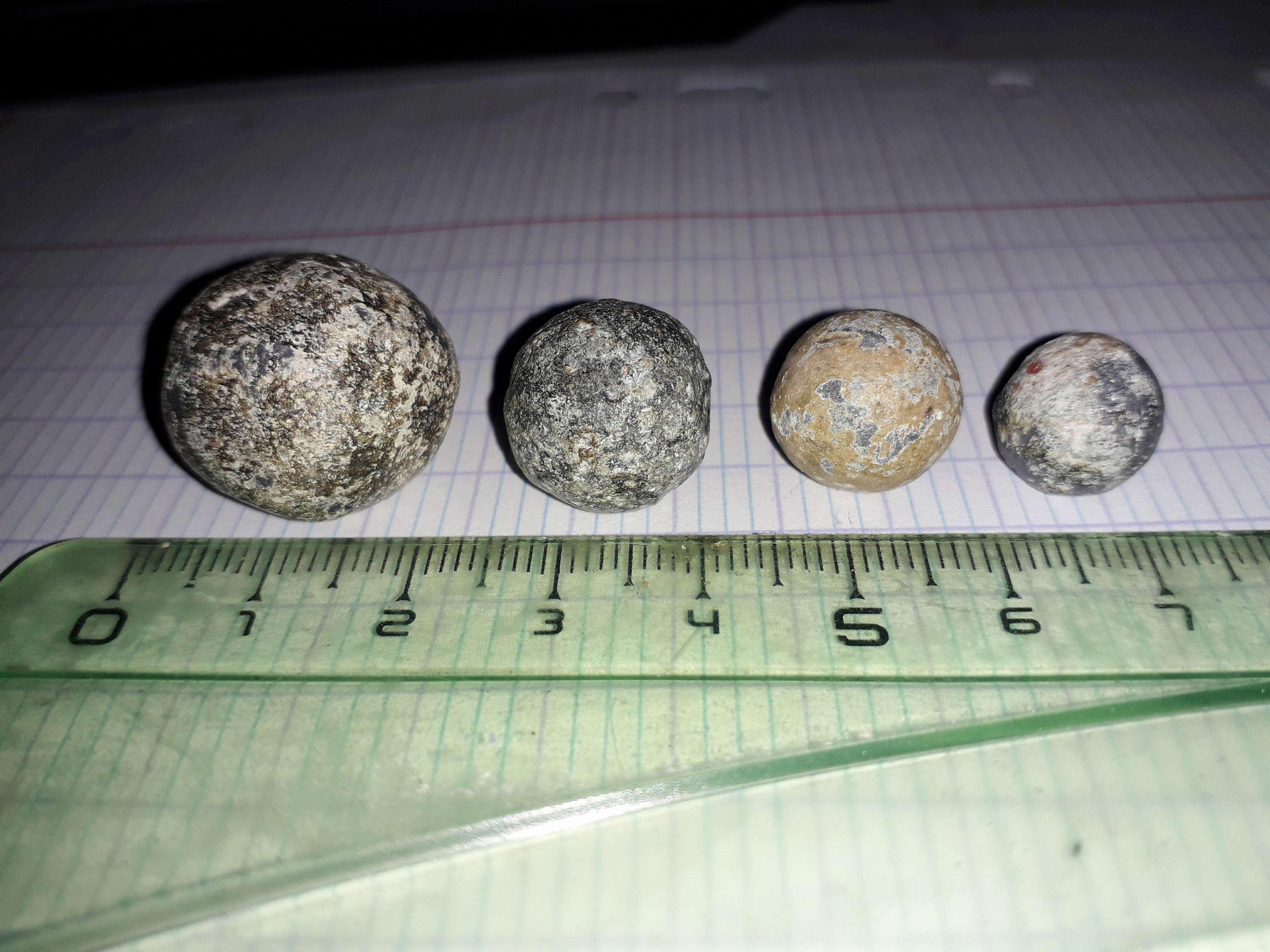 aide identification de balles de mousquets en plomb 1814 / 1870 34258510