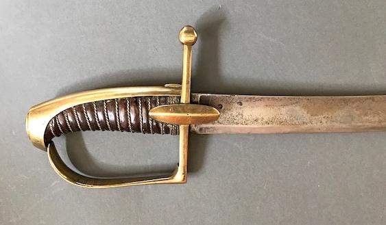 Sabre de Chasseur-à-Cheval de La Garde... authentification Img_0412