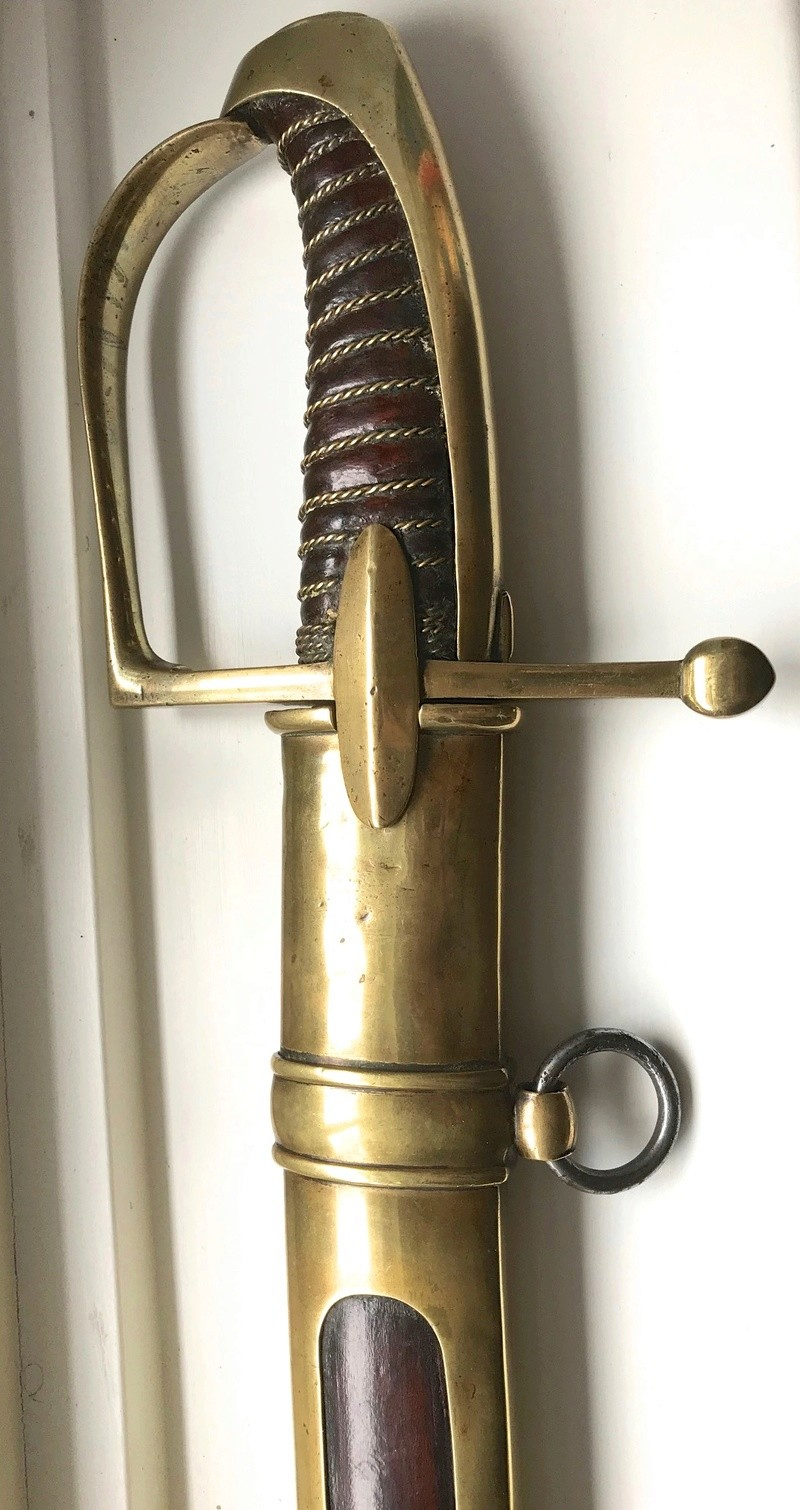 Sabre de Chasseur-à-Cheval de La Garde... authentification Img_0420