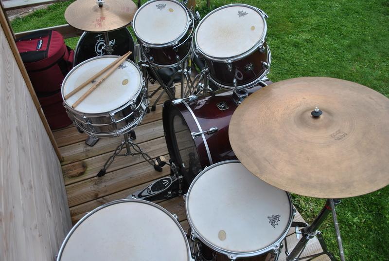 [ VENDUE ] Batterie GRETSCH Catalina Maple, cymbales, ...  2dsc_010