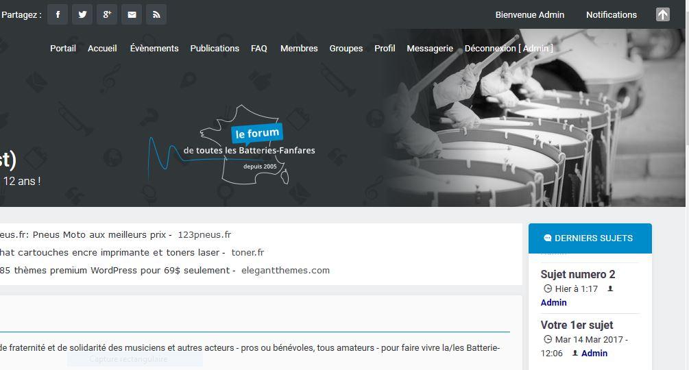Tag page-header sur Forum gratuit : Le forum des forums actifs Captur10