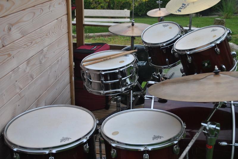 [ VENDUE ] Batterie GRETSCH Catalina Maple, cymbales, ...  Dsc_0813