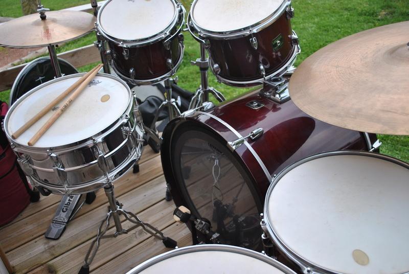 [ VENDUE ] Batterie GRETSCH Catalina Maple, cymbales, ...  Dsc_0815