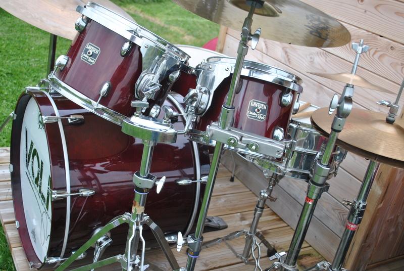 [ VENDUE ] Batterie GRETSCH Catalina Maple, cymbales, ...  Dsc_0816