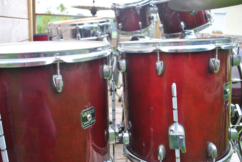 [ VENDUE ] Batterie GRETSCH Catalina Maple, cymbales, ...  Dsc_0817