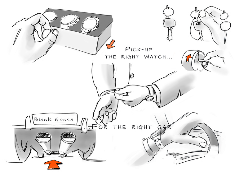 Création de ma marque: Black Goose - Page 4 Feutre10