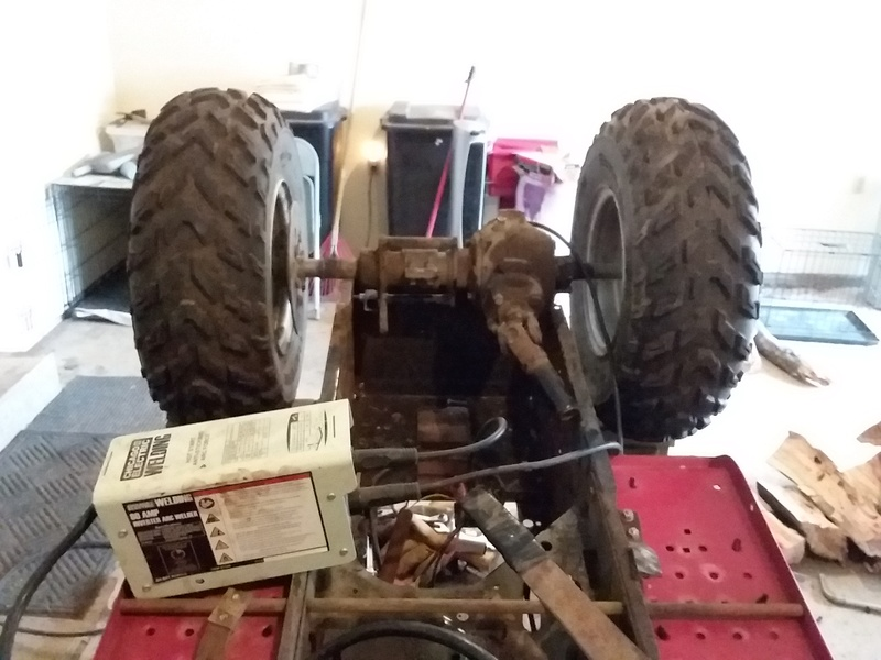 Junk-TD  Ranch king off road cheapster build.  15221611