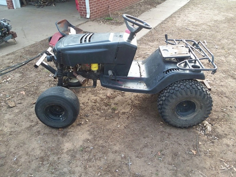 2003 heavily modified Murray Off-road tractor  - Page 9 20180427