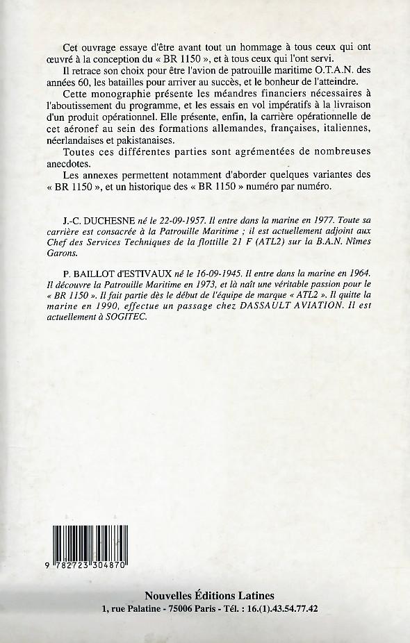 [Les anciens avions de l'aéro] Le Bréguet Atlantic (BR 1150) - Page 5 Bouqui16