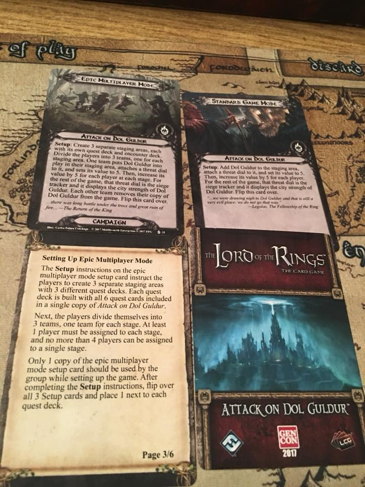 [POD] Attack on Dol Guldur spoiler 23754610