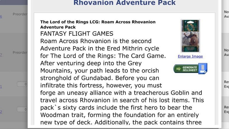 Errance au Rhovanion [cycle d'Ered Mithrin, pack 2] 32645910