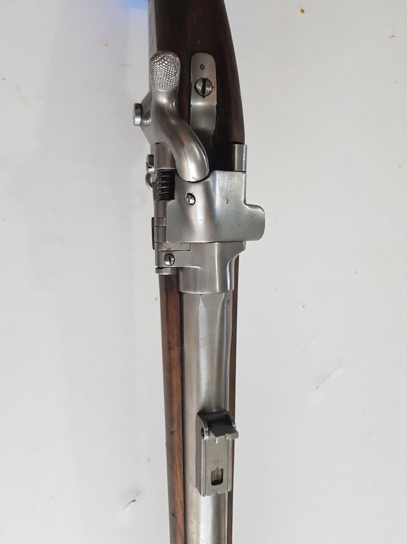 Ma nouvelle acquisition Fusil Tabatière Français 410