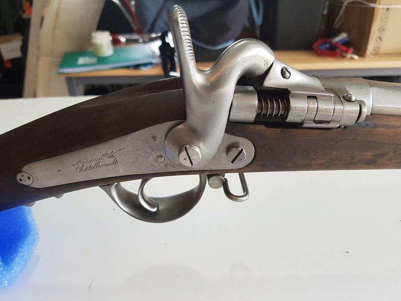 Ma nouvelle acquisition Fusil Tabatière Français 510