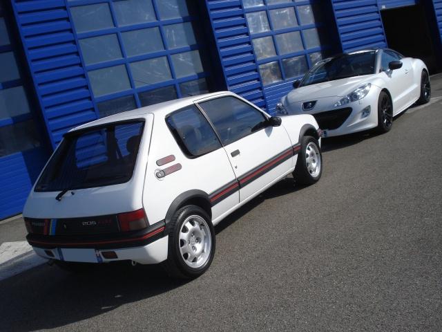Nuancier peinture carrosserie 205 GTI CTI RALLYE 37011610