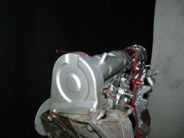 TUTO , remplacement kit distribution et pompe a eau 205 GTI 39974010