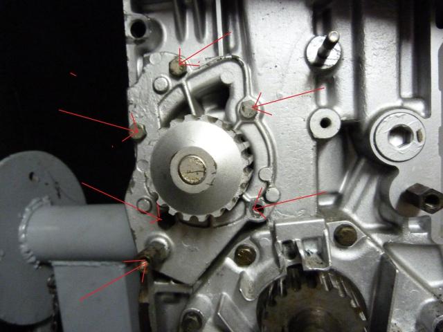 TUTO , remplacement kit distribution et pompe a eau 205 GTI 40467710