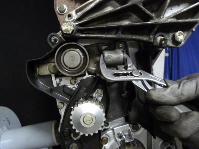 TUTO , remplacement kit distribution et pompe a eau 205 GTI 41181410