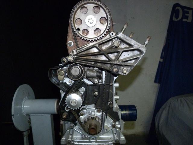 TUTO , remplacement kit distribution et pompe a eau 205 GTI 57562510