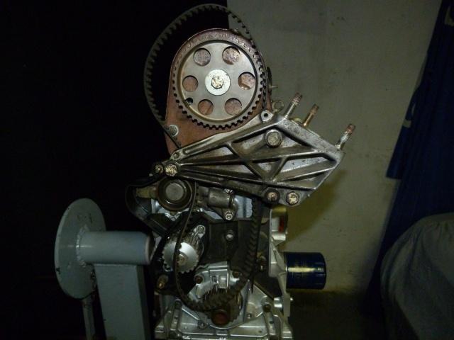 TUTO , remplacement kit distribution et pompe a eau 205 GTI 58356210