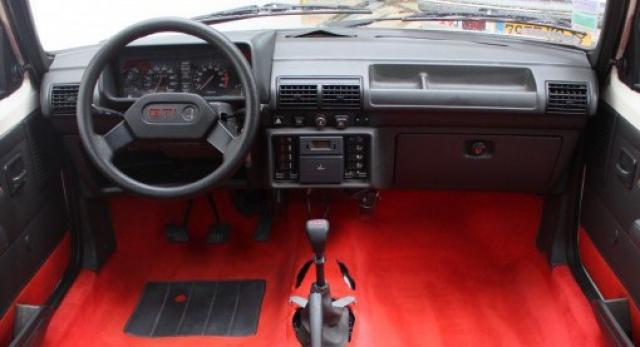Identification des modéles 205 GTI : Tableau de Bord 99654010