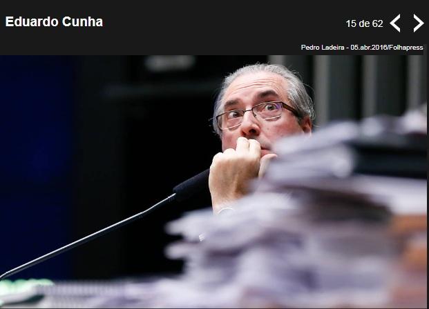Cunha recebeu R$ 1 mi para 'comprar' votos do impeachment de Dilma, diz Funaro Cunha10