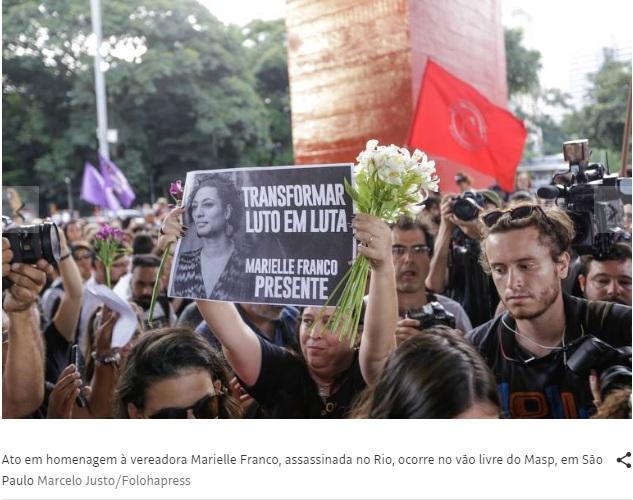 Assassinato de Marielle representa o fracasso da democracia Mariel11