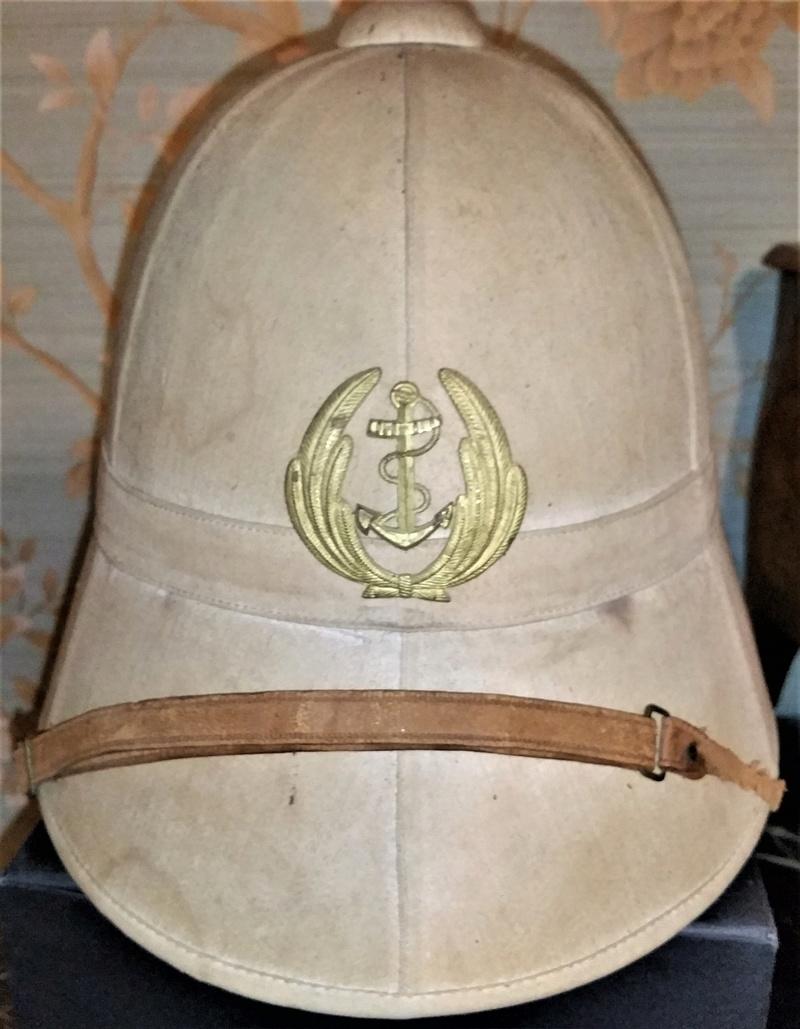 Casque 1886 -28 d'officier supérieur de marine. 20181211