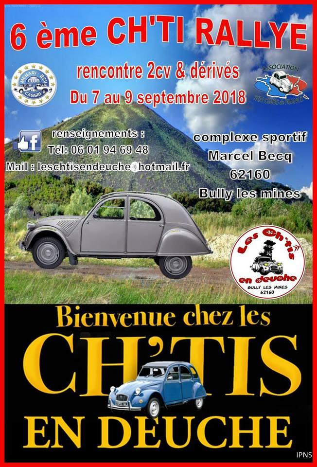 Les CH'TI en deuche 07-08-09 septembre à BULLY LES MINES (62) 28577310