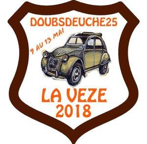 Nationale des 2cv club de France 2018 Logo11