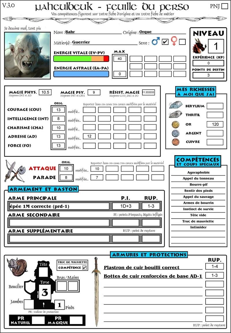 Bahr, l'orque guerrier Bahr-p11