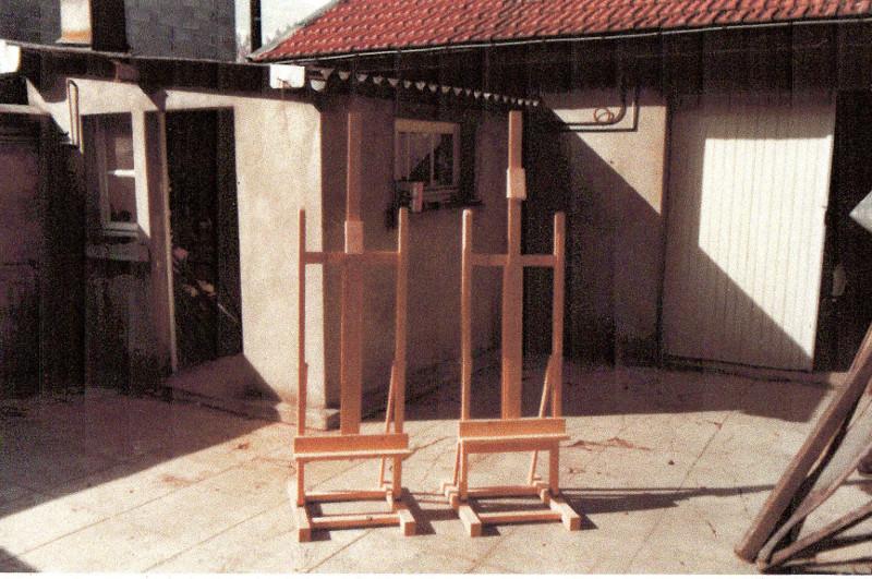 Aide pour réalisation d'un chevalet d'atelier pour peintre - Page 2 Cheval11