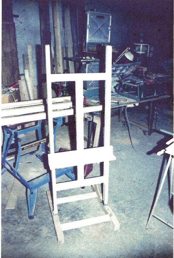 Aide pour réalisation d'un chevalet d'atelier pour peintre - Page 2 Cheval14
