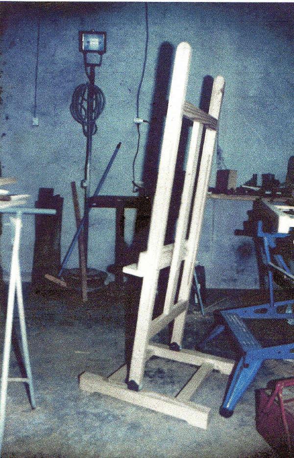Aide pour réalisation d'un chevalet d'atelier pour peintre - Page 2 Cheval15