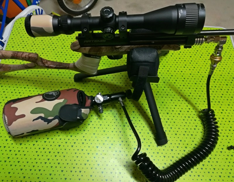 Artemis CP2 mode HPA Gun110